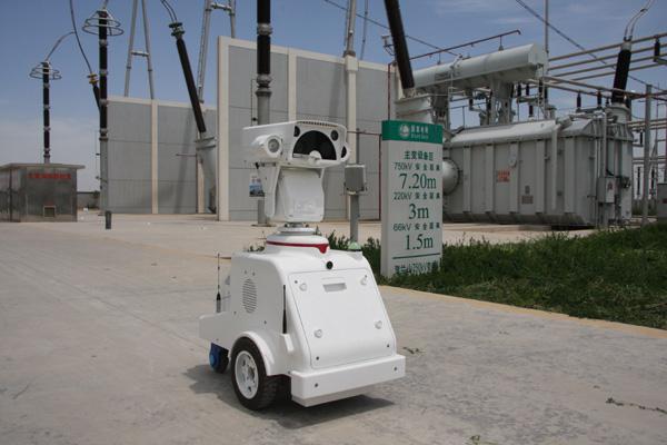 宁夏首台变电站智能巡检机器人投入运行 -宁夏电力公司-国家电网